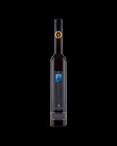 Eine dunkle 0,35-Liter-Flasche Hafele Enzian Brand von Prinz.