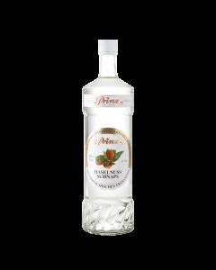 Haselnuss-Schnaps von Prinz in der 1-Liter-Flasche.