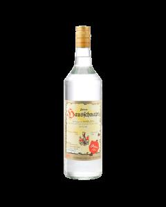 Hausschnaps Marille 34 % vol. von Prinz in der 1-Liter-Flasche.