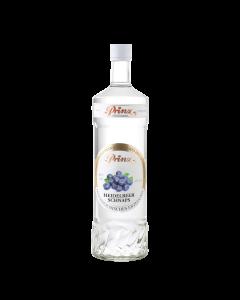 Heidelbeer-Schnaps von Prinz in der 1-Liter-Flasche.