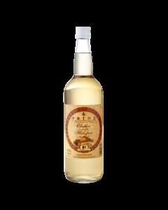 Obstler aus dem großen Holzfass 40 % vol. von Prinz in der 1-Liter-Flasche.