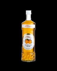 Marillen-Likör von Prinz in der 1-Liter-Flasche.