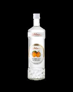 Marillen-Schnaps 40 % vol. von Prinz in der 1-Liter-Flasche.