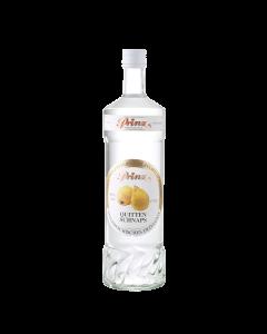 Quitten-Schnaps 40 % vol. von Prinz in der 1-Liter-Flasche.