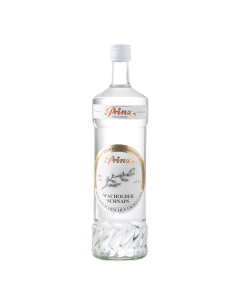 Wacholder-Schnaps 40 % vol. von Prinz in der 1-Liter-Flasche.