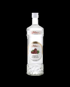 Zirben-Schnaps 40 % vol. von Prinz in der 1-Liter-Flasche.