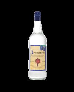 Zwetschgerla 34 % vol. von Prinz in der 1-Liter-Flasche.