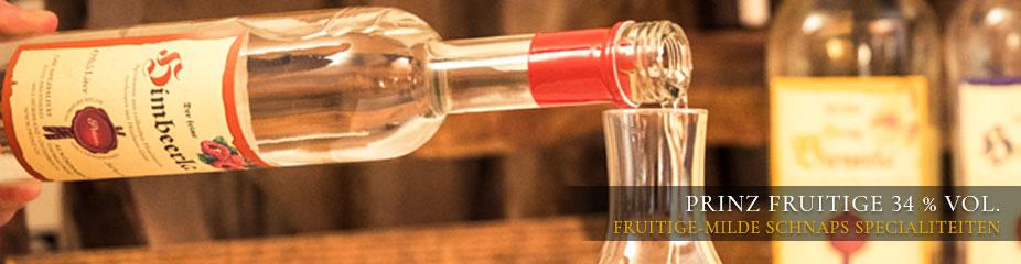 Prinz fruitige 34 % vol. - fruitige-milde schnaps specialiteiten