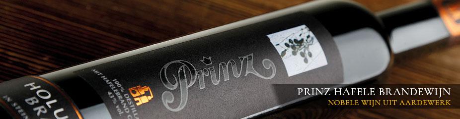 Prinz Hafele brandewijn, nobele wijn uit aardewerk