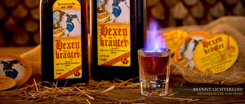 Brennt lichterloh beim Anzünden – Hexenkräuter von Prinz