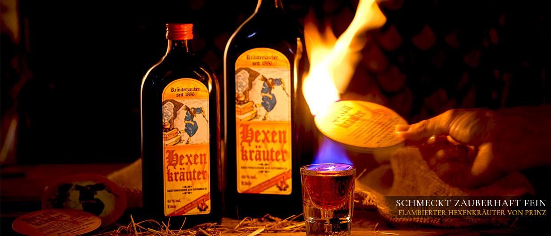 Schmeckt zauberhaft fein: flambierter Hexenkräuter von Prinz