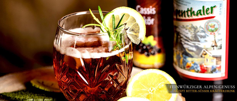 Rezept Bitter-süßer Alpendrink