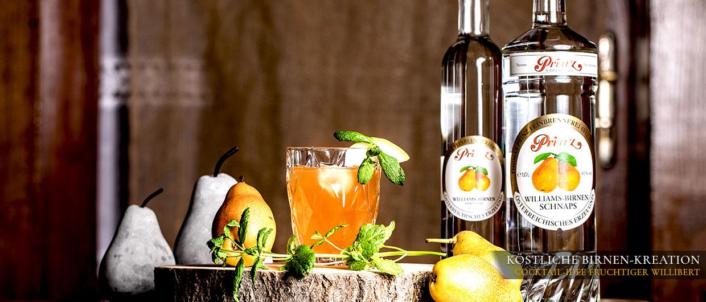 Cocktail-Rezept Fruchtiger Willibert