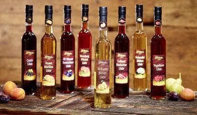Traditionelle Fruchtsaftliköre von Prinz: der köstliche Fruchtgenuss aus Österreich