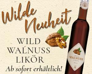 Der Wild Walnuss Likör von Prinz mit grünen Walnüssen überrascht mit seinem besonderen, fein-herben Geschmack.