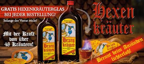 Magischer Genuss von Prinz: Hexenkräuter - Gratis Hexenkräuterglas