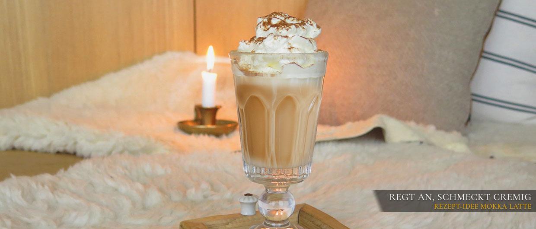 Heißgetränke-Rezept Mokka Latte